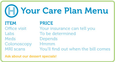 Your Care Plan Menu